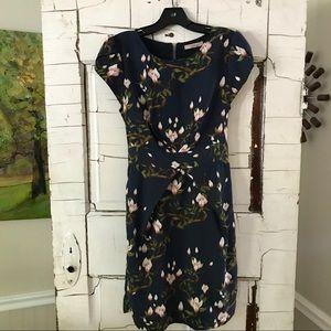 Darling floral bird dress